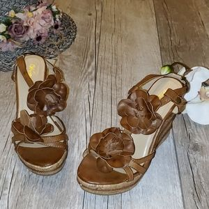 Wanted Wedge Sandals